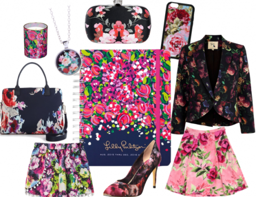 Planner Girl Style Floral Planner Accessories