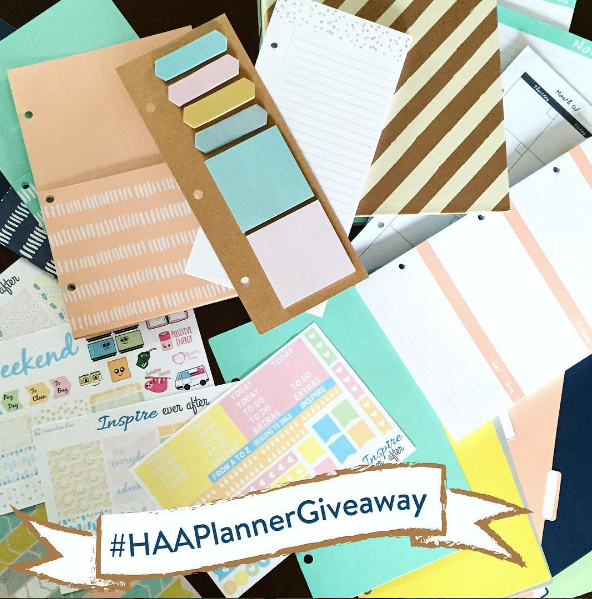 Happy As Annie Planner Giveaway on Instagram