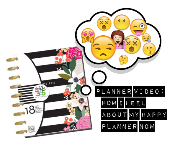 Happy As Annie Updated Planner Video How I Feel About My Happy Planner Now Versus Filofax
