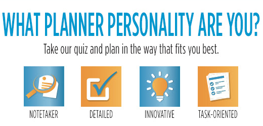 Franklin Covey Planner Personality Quiz Which of the 4 Types of Planner Personalities Do You Have?