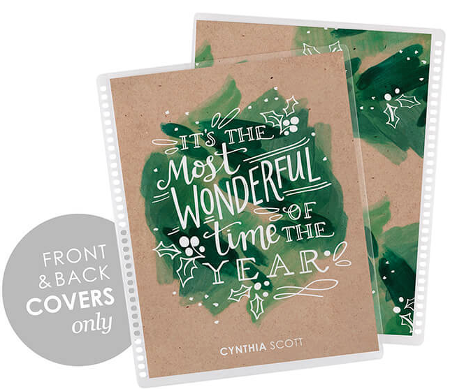 Erin Condren Life Planner Interchangeable Cover It's the Most Wonderful Time of the Year