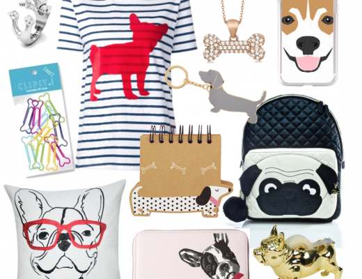 Puppy Dog Trend with Apparel Jewelry Stationery and Home Goods