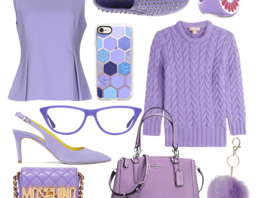 Trendy Tuesday: Lilac is the color of the season. Lilac picks for your spring wardrobe and accessories.