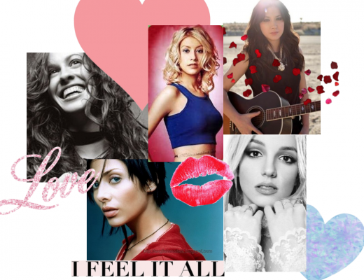 Planner Girl Provisions Subscription Box Puppy Love for February Playlist including Alanis Morrissette, Natalie Imbruglia, Christina Aguilera, Britney Spears, and MIchelle Branch