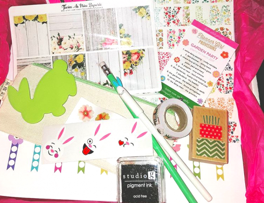 "Instagram Praise for the Planner Girl Provisions March ""Garden Party"" Subscription Box"