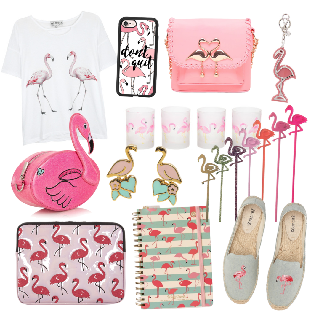 Happy As Annie Trendy Tuesday Flamingo