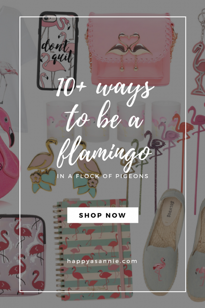 Happy As Annie's #TrendyTuesday featuring 10+ Ways to Be A Flamingo in a Flock of Pigeons