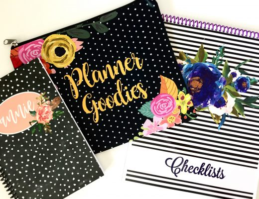 Personalized Planner Goodies from Jane.com