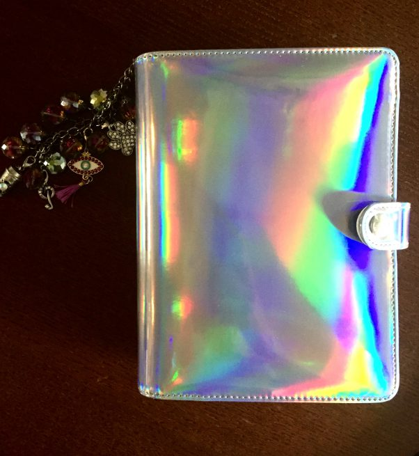 I moved out of my Filofax Malden and into my Hologram Recollections Planner from Michaels. See what changed and what stayed the same.