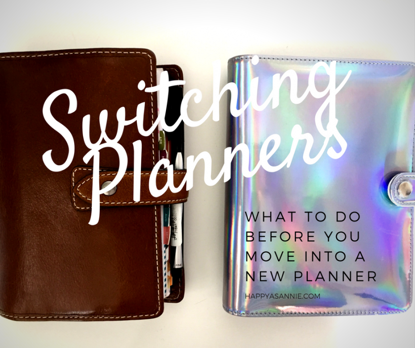Switching Planners: What to Do Before Moving into a New Planner