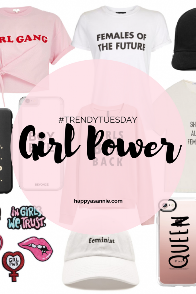 TrendyTuesday on Happy As Annie Featuring Girl Power