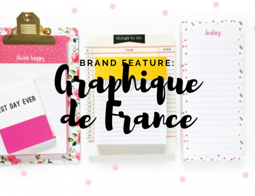 "Happy As Annie Brand Feature: Graphique de France, featured in the Planner Girl Provisions June ""Mermaid Off Duty"" Box"