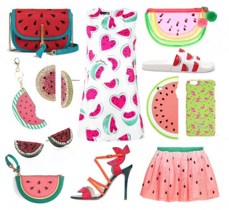 Trendy Tuesday on Happy As Annie featuring the Watermelon Trend.