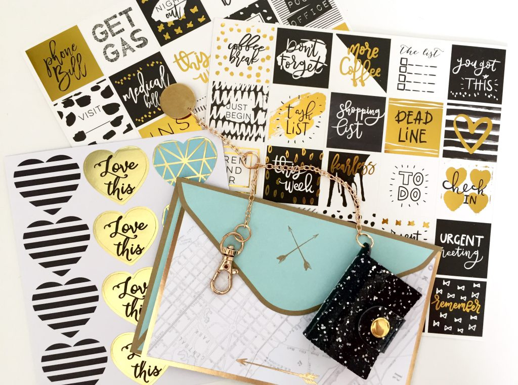 The Planner Girl Provisions August Box Theme Reveal: Stay Gold!