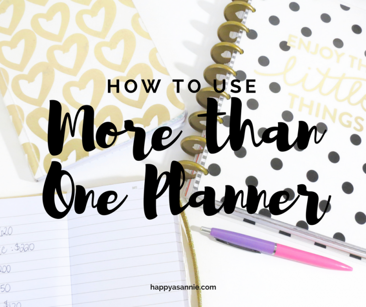 How to Use More than One Planner