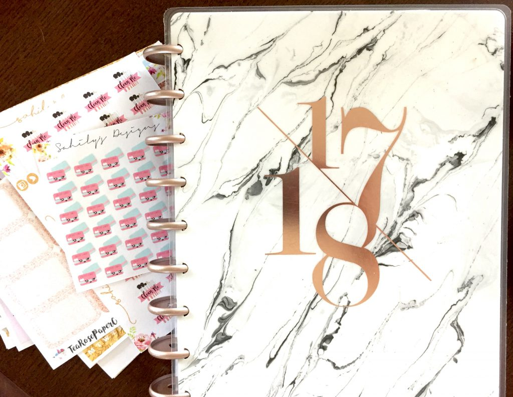 How I use more than one planner: My Happy Planner lets me organize my daily to-dos.