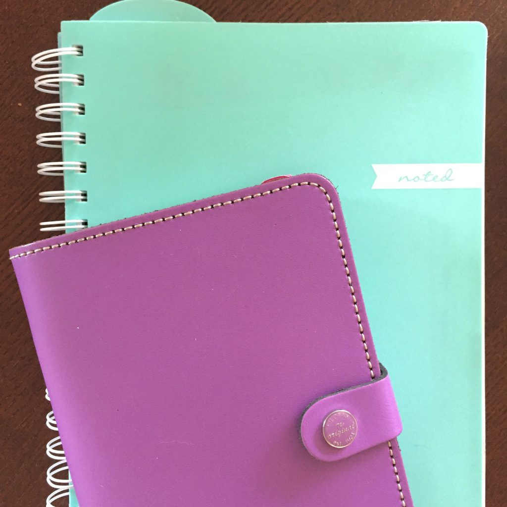 How I use more than one planner: I start with to-do lists, usually in a notebook and my personal Filofax.