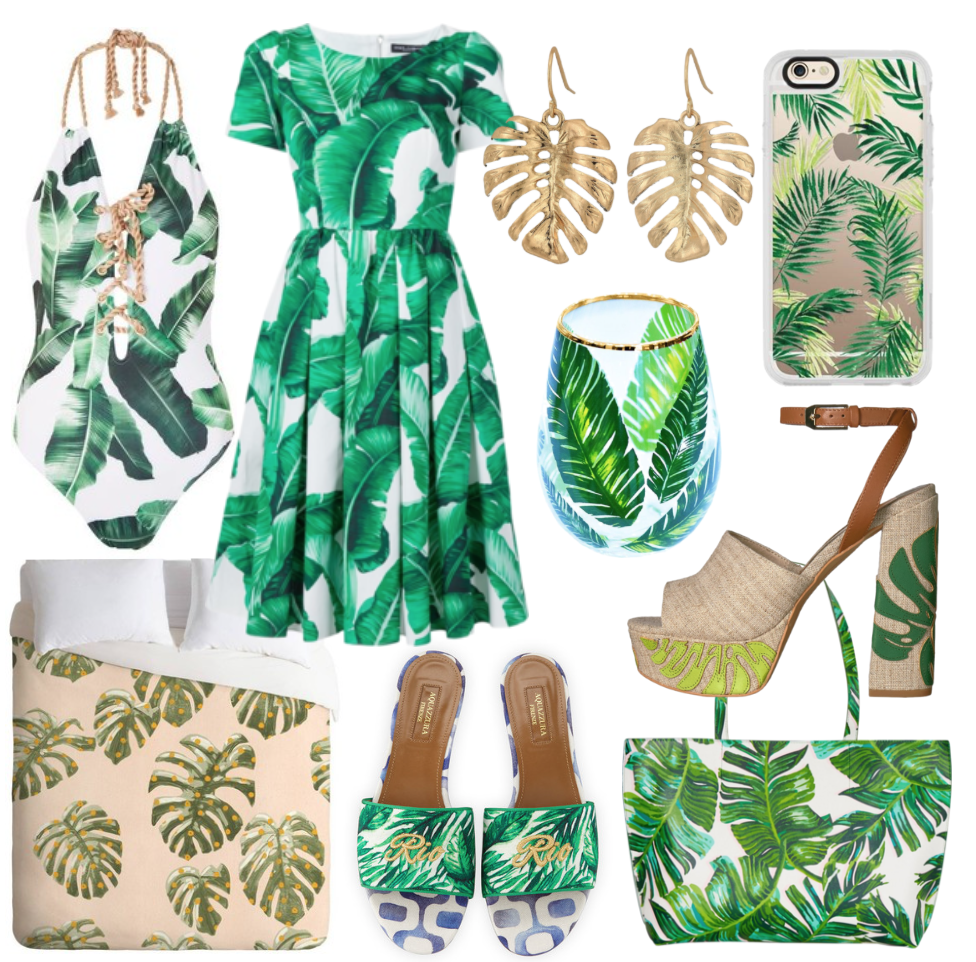 Trendy Tuesday on Happy As Annie: The Palm Leaf