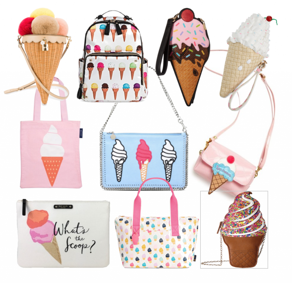 Trendy Tuesday on Happy As Annie: We all scream for the Ice Cream bag!