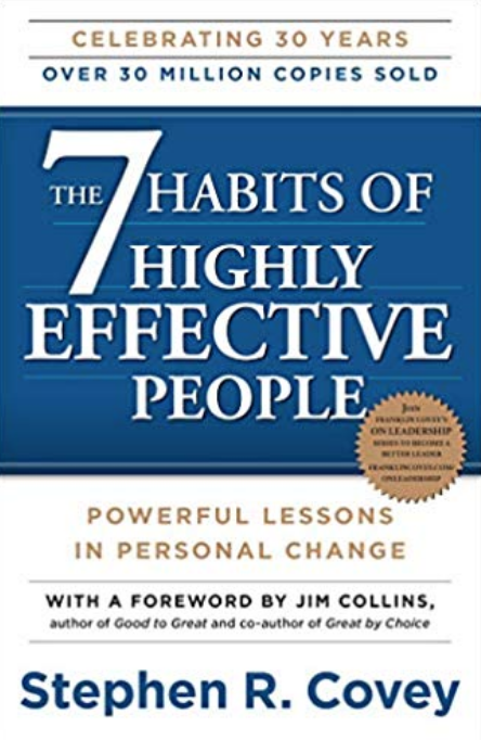 10 Self-Discovery Books to Help You Create Your Dream Life, including 7 Habits of Highly Effective People by Stephen Covey | Happy As Annie