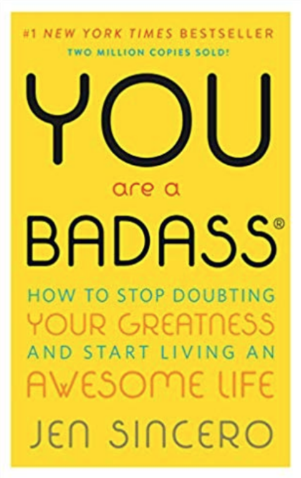 10 Self-Discovery Books to Help You Create Your Dream Life, including You Are a Badass by Jen Sincero | Happy As Annie