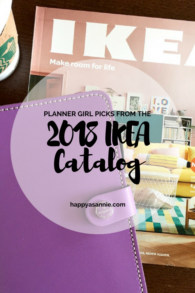 Planner Girl Picks from the 2018 IKEA Catalog