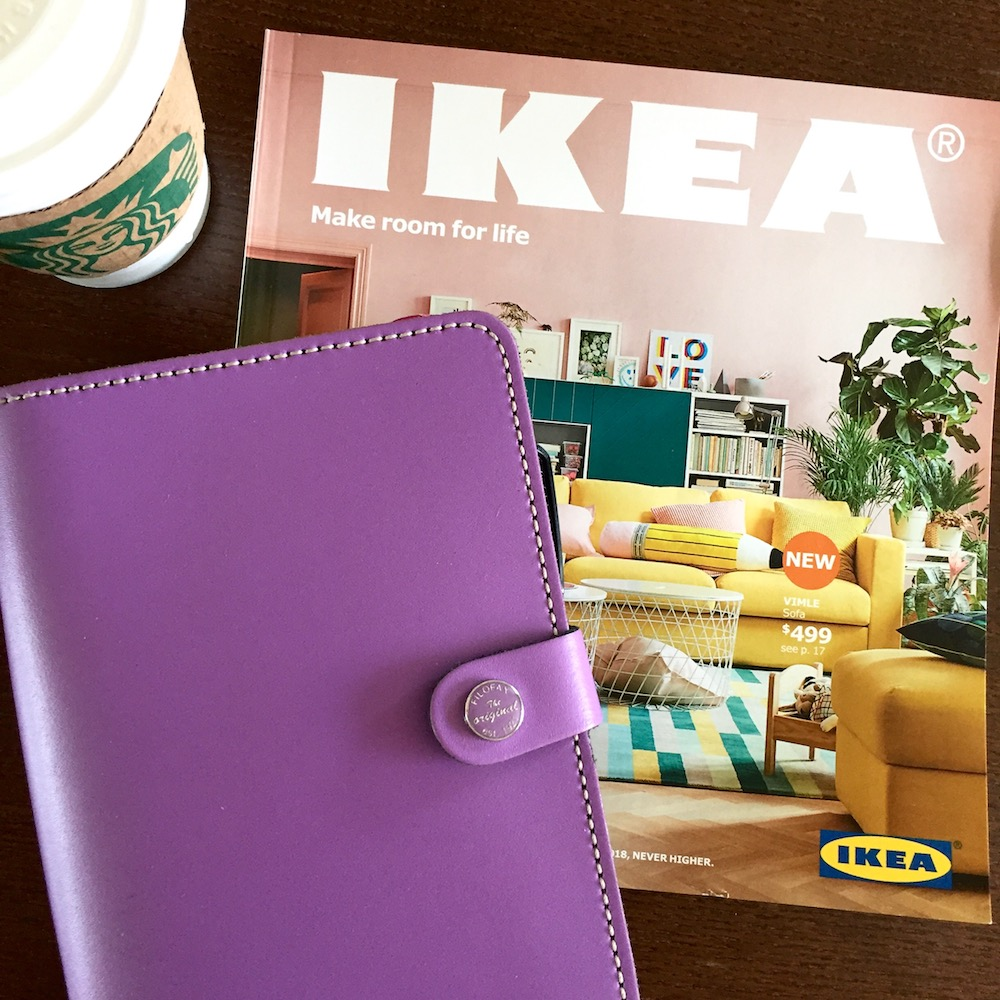 Happy As Annie's Top 10 Planner Girl Picks from the 2018 IKEA Calendar
