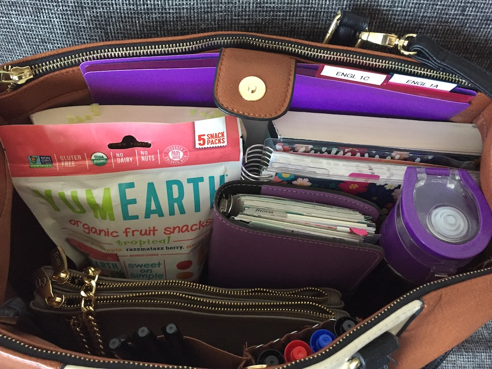 What S In My Teacher Bag How I Organize Professor Stuff Planner