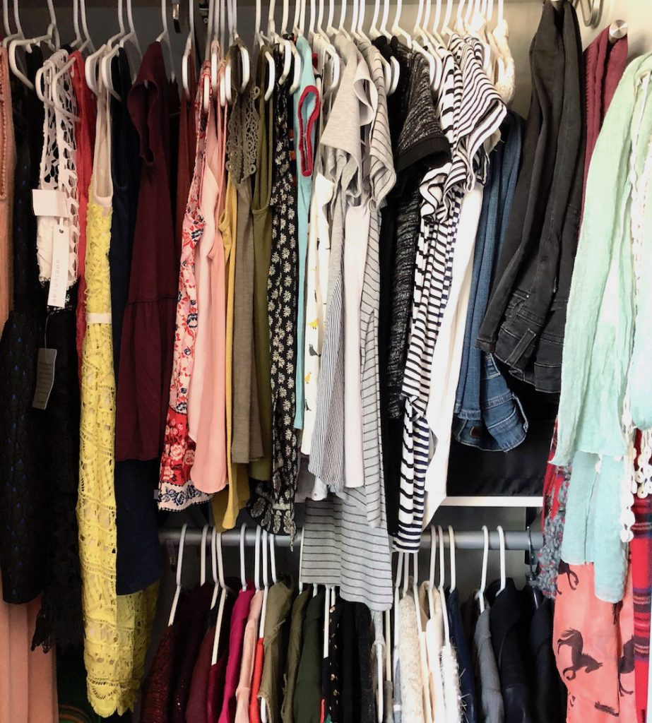 Wardrobe Revamp: Some first steps to take to clean out and reorganize your uninspiring closet!