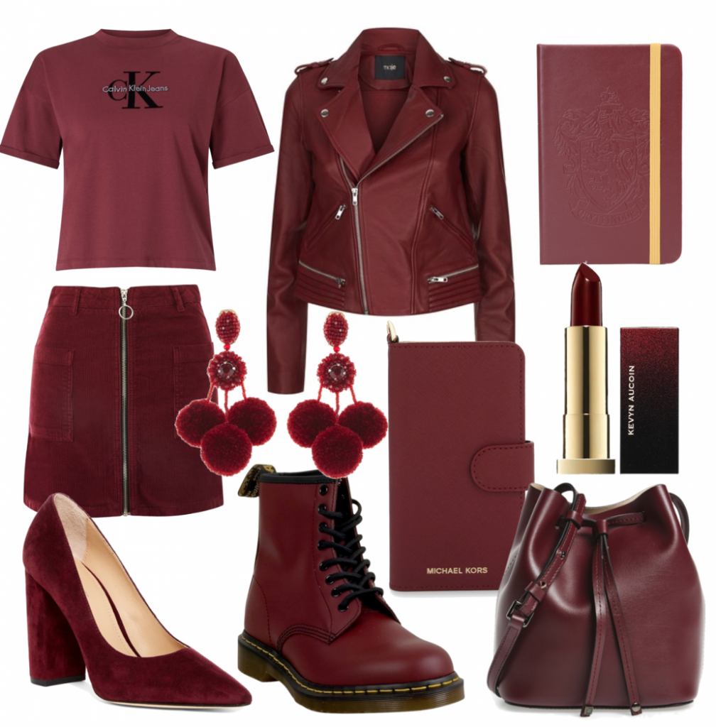 Trendy Tuesday: Whether you call it maroon, wine, or burgundy, this is the color of the season.
