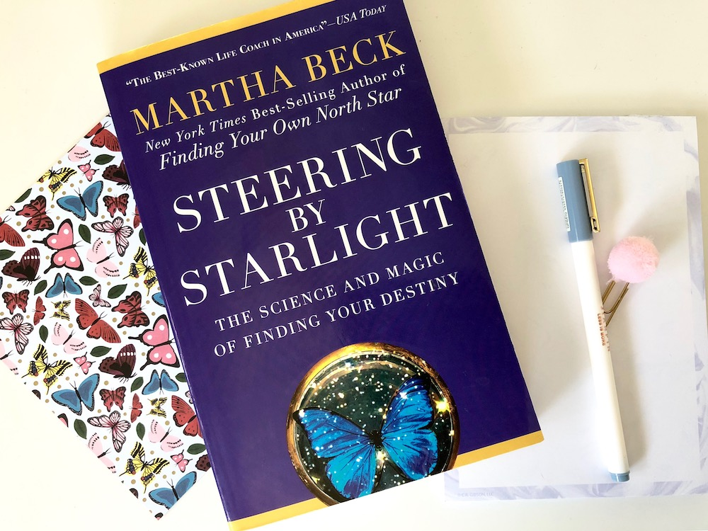 Planner Girl Book Club: Steering by Starlight by Martha Beck