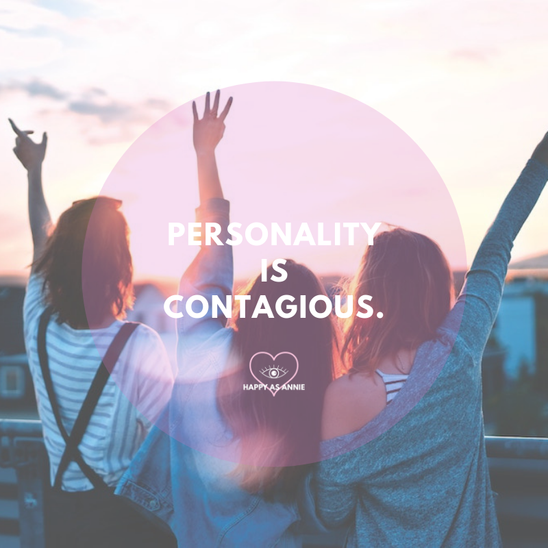 Personality is contagious. Happy As Annie | 10 Ways to Start Living More Intuitively Right Now