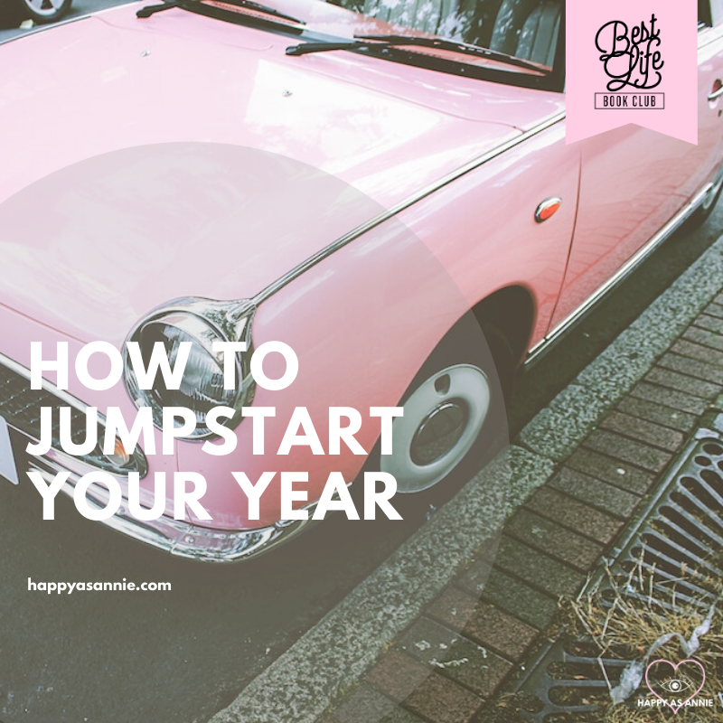 How to Jumpstart Your Year | Best Life Book Club by Happy As Annie discusses The Happiness Project by Gretchen Rubin