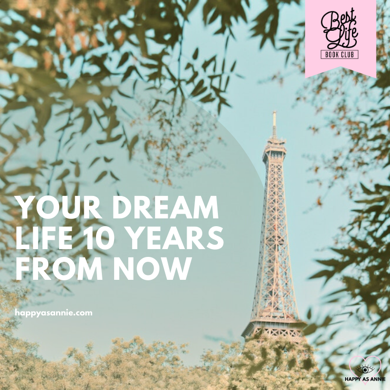 Your Dream Life 10 Years from Now   Best Life Book Club by Happy As Annie discusses Girl, Stop Apologizing by Rachel Hollis