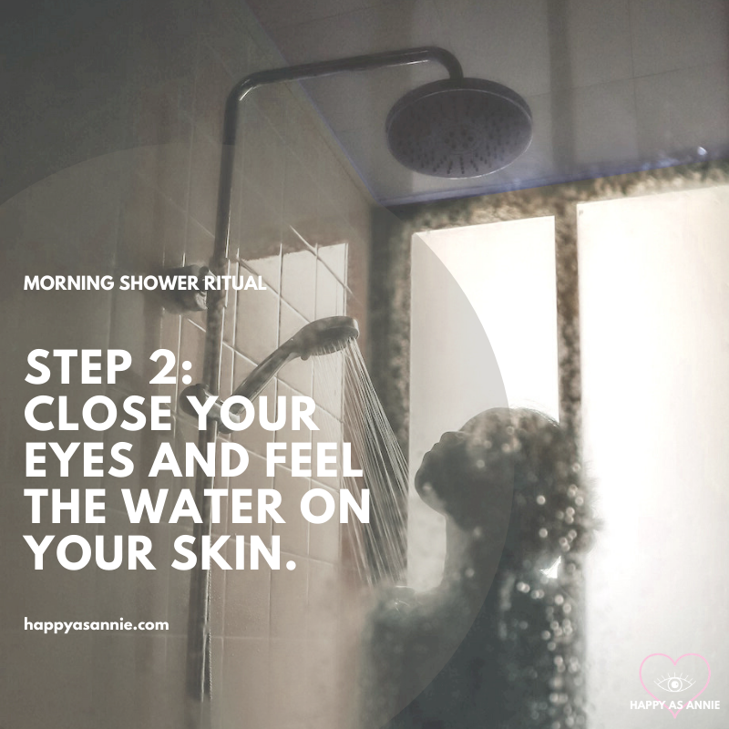 How to Turn Your Morning Shower into a Powerful Magical Ritual | Happy As Annie