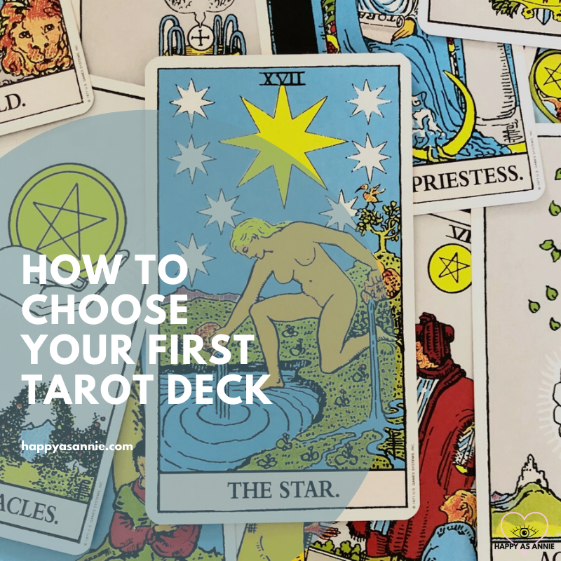 How to Choose a Tarot Deck for Beginners | Happy As Annie