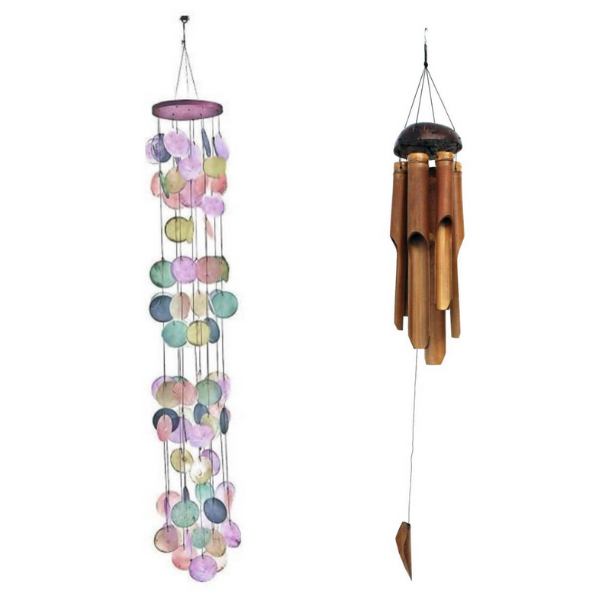 Windchimes available on Etsy