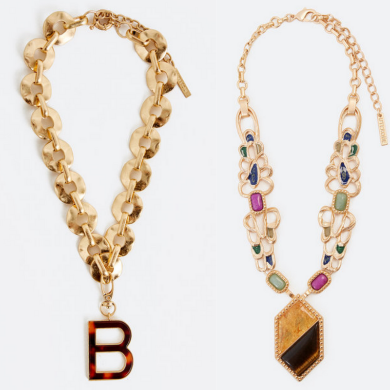 Happy As Annie | 13 Essential Summer Must-Haves for Your Soul | Channel the vibrant and celebratory energy of summer by rocking some statement jewelry, like these gorgeous statement necklaces by Uterque.