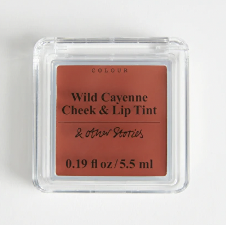 Wild Cayenne Cheek and Lip Tint from And Other Stories