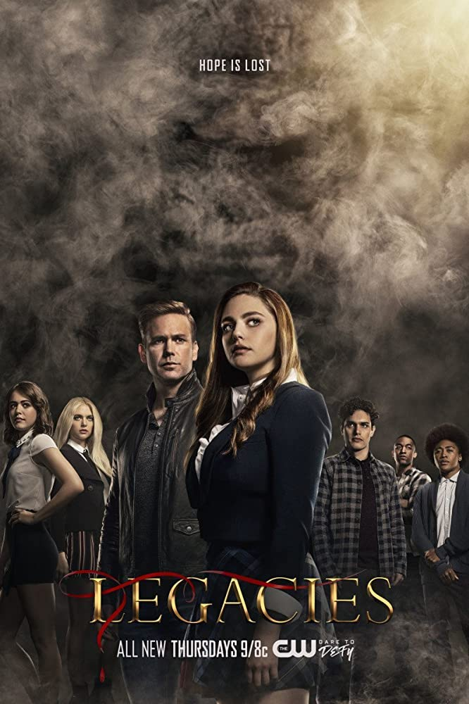 6 Best Wtichy Netflix Shows to Binge-Watch this Summer | Happy As Annie (CW poster for Legacies from IMDB)