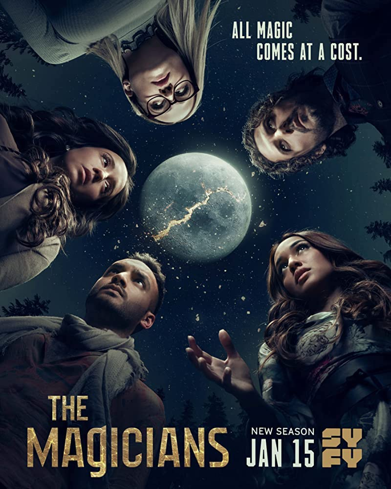 6 Best Witchy Netflix Shows to Binge-Watch this Summer | Happy As Annie (SyFy poster for The Magicians from IMDB)