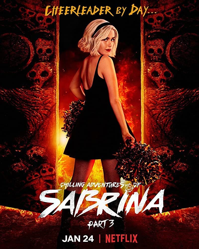 Netflix poster for The Chilling Adventures of Sabrina from IMDB