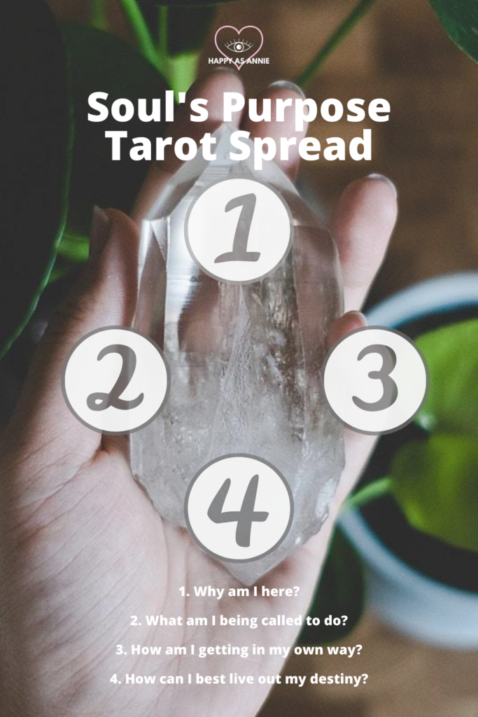 Soul's Purpose Tarot Spread | Happy As Annie