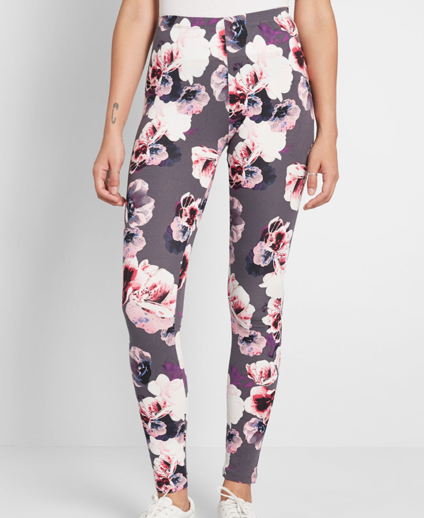 Floral Leggings from Modcloth