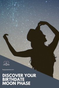 Happy As Annie   Discover Your Birthdate Moon Phase. What phase was the moon in the day you were born? Are you a contradictory full moon baby? A creative waxing crescent baby? In this post, I tell you how to find out and why it matters. #moonphases #moonjewelry #moonmagic #lunarphases