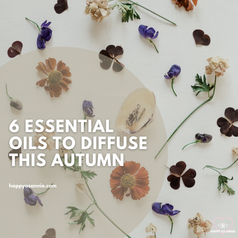 6 Essential Oils to Diffuse This Autumn | Happy As Annie. Best Fall Essential Oils to Diffuse this Season