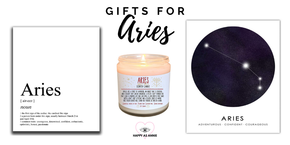 Happy As Annie's Amazon Handmade Zodiac-Inspired Gift Guide: Gifts for Aries