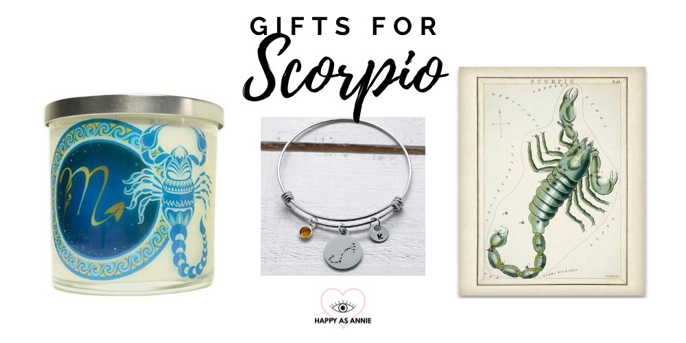 Happy As Annie's Amazon Handmade Zodiac-Inspired Gift Guide: Gifts for Scorpio
