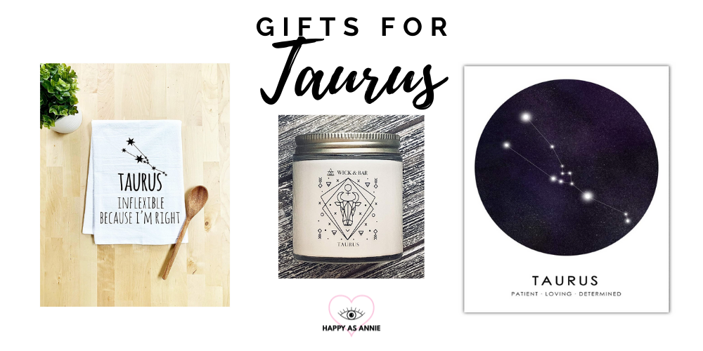 Happy As Annie's Amazon Handmade Zodiac-Inspired Gift Guide: Gifts for Taurus