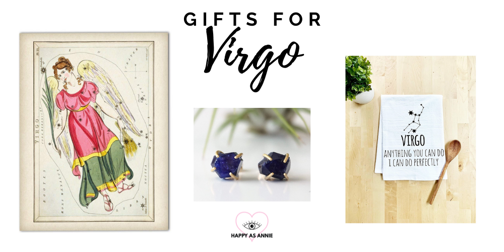 Happy As Annie's Amazon Handmade Zodiac-Inspired Gift Guide: Gifts for Virgo
